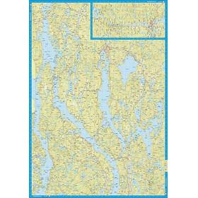 Calazo Dalslands kanal (Sjö- och kustkarta)